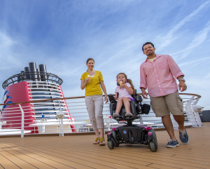 cruise disney disabled children trips