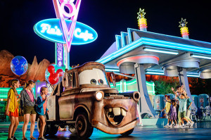 Travel Agents to Disneyland Cars