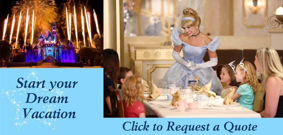 Disney Vacation Request Quote Travel Agent